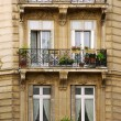 Paris windows — Stock Photo #4948791
