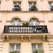 Stock Photo: Paris windows