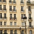 Paris-windows — Stockfoto