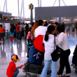 Queue airport — Stock Photo #4948964