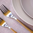 Royalty-Free Stock Photo: Plates and cutlery