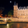 Nighttime Paris — Stockfoto