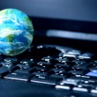 Internet computer business global — Stockfoto #4949131