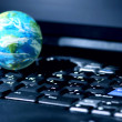 Internet computer business global — Stockfoto