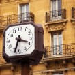 Clock in Paris — Stock Photo