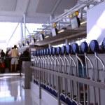 Airport crowd — Stock Photo