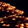 Burning candles — Stockfoto #4949376