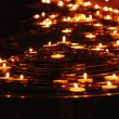 Burning candles — Stock Photo #4949378