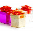 Gift boxes — Stock Photo #4949428