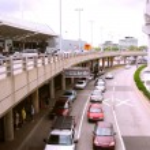 Airport terminal — Stock Photo