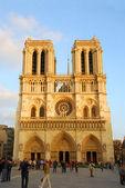 Собор Парижской Богоматери — Стоковое фото