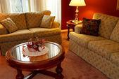 Obývací pokoj interiér — Stock fotografie