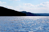 Sparkling lake — Stock Photo