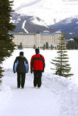 Lake Louise — Stock Photo
