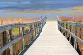 Pohled na pláž — Stock fotografie