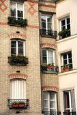 Paris windows — Stok fotoğraf
