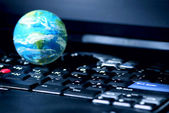 Negócio de computador internet global — Foto Stock