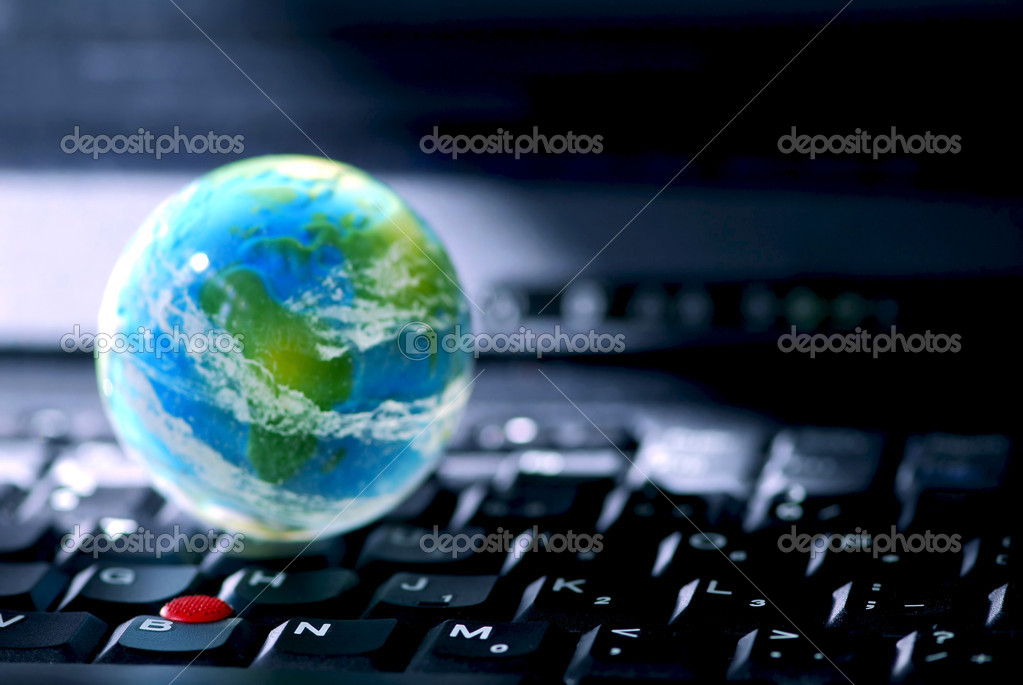 Concept of global internet connectivity or international business — Stock Photo #4948164