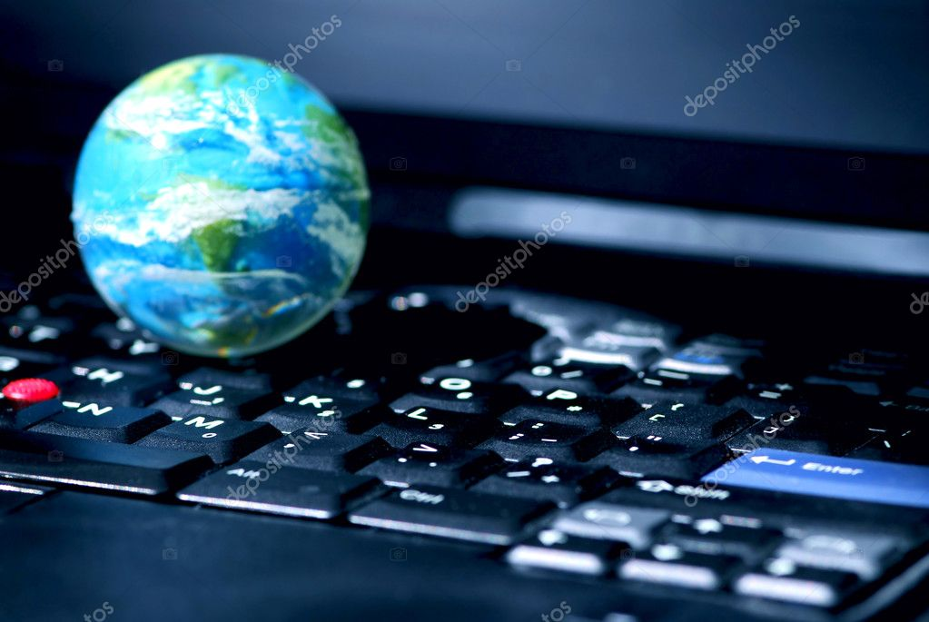 Concept of global internet connectivity or international business — Stock Photo #4949131