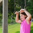 Girl on playground — Stock Photo #4953826