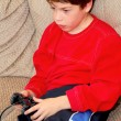 Boy video game - Stock Photo