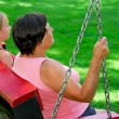 Family swings — Stock Photo #4953981
