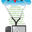 Cloud Antivirus — Foto Stock