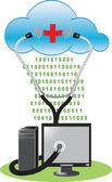 Cloud Antivirus — Stock Photo