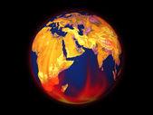 Küresel isınma — Stok fotoğraf