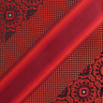 Textile texture - red — Stock Photo