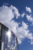 Sky in windows — Stock Photo