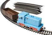 Toy train   Isolated — Stock Photo