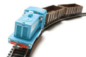 Toy train | Isolated — Stock Photo