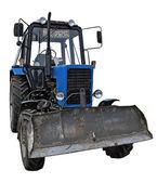 Blue bulldozer | Isolated — Stockfoto