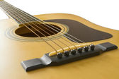 Acoustic guitar | Isolated — Stock Photo