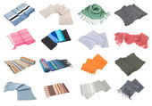 Scarfs collection set #2 | Isolated — Stock Photo