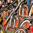 Bicycles for sale. - Stock Photo