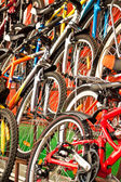 Bicycles for sale. — Stock Photo