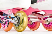 Roller blades close up — Stock Photo