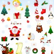 Royalty-Free Stock Obraz wektorowy: Christmas symbols collection