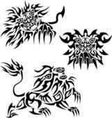 Lions — Stock Vector