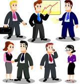 офисный персонал — Cтоковый вектор