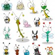 Royalty-Free Stock Vector Image: Cartoon insects