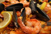 Original spanish Paella — Stock Photo