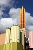 Waste-to-energy plant — Stock Photo