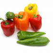 colored pepper — Stock Photo