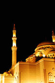 Mosque at night — Stock Photo