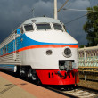 ER200 high-speed train — Foto Stock