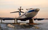 Orlyonok ground-effect plane — Stock Photo