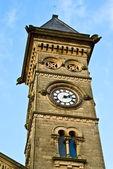 Church tower in Preston — Stock Photo